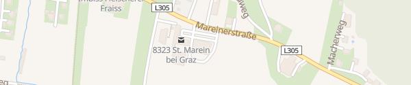 Karte Spar Sankt Marein bei Graz