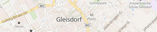 Karte Hauptplatz Gleisdorf