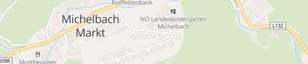 Karte Jubiläumssiedlung Michelbach