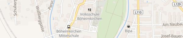 Karte Hauptschule Böheimkirchen