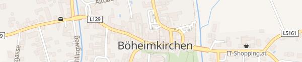 Karte Raiffeisenkassa Böheimkirchen