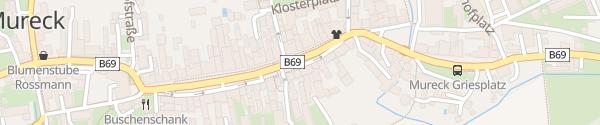Karte Hauptplatz Mureck