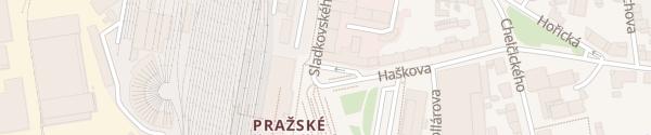 Karte Zákaznické Centrum ČEZ Hradec Králové