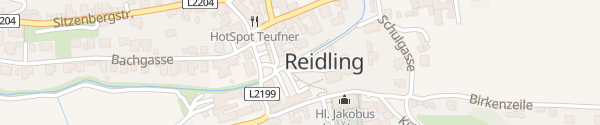 Karte Gemeindeamt Sitzenberg-Reidling