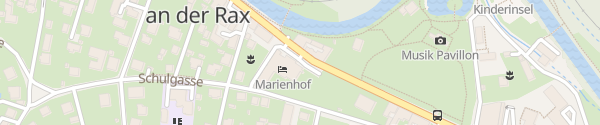 Karte Hotel Marienhof Reichenau an der Rax