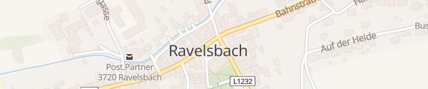 Karte Gemeindeamt Ravelsbach