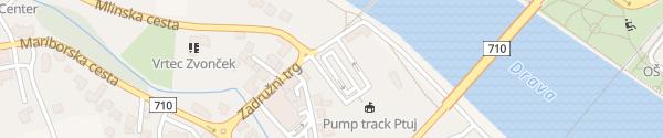 Karte P&R Parkplatz Ptuj