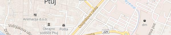 Karte Ulica Heroja Lacka Ptuj