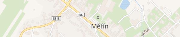 Karte Grundschule Měřín