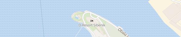 Karte D-Resort Šibenik