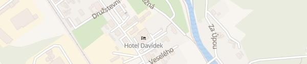 Karte Hotel Davídek Trutnov