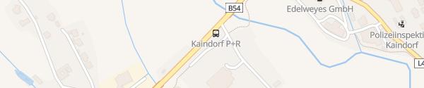 Karte Großer Parkplatz an der Wechselstraße Kaindorf bei Hartberg