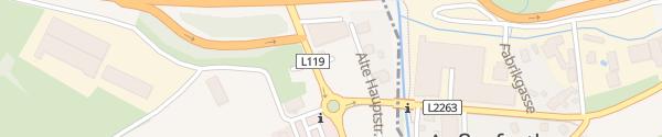 Karte Raiffeisenbank Wienerwald Innermanzing