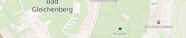 Karte Tourismusfachschule Bad Gleichenberg