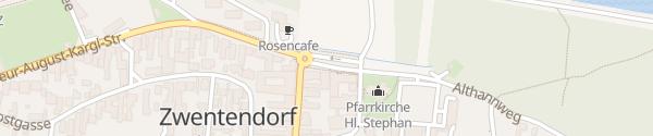 Karte Gemeindeamt Zwentendorf