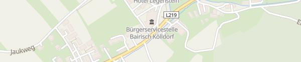 Karte Freiwillige Feuerwehr Bairisch Kölldorf