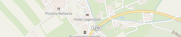 Karte Vulkanhotel Legenstein Bairisch Kölldorf