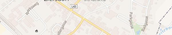 Karte Ortszentrum Ziersdorf