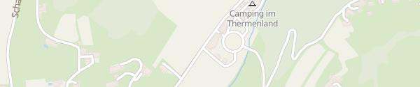 Karte Campi Gasthaus Campingplatz Bad Gleichenberg