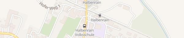 Karte Bahnhof Halbenrain