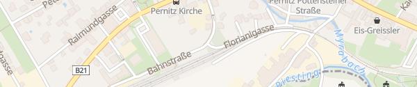 Karte Bahnhof Pernitz