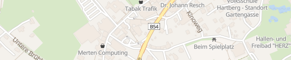 Karte BistroBox Hartberg
