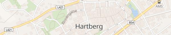 Karte Hauptplatz Hartberg