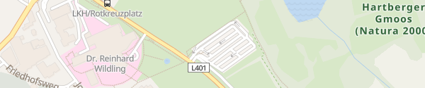 Karte Landeskrankenhaus Hartberg