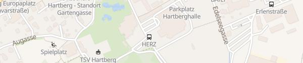 Karte Stadtwerke-Hartberg-Halle Hartberg