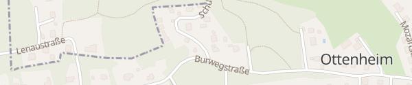 Karte Burwegstraße Eichgraben