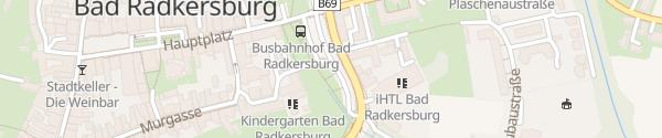 Karte Parkplatz Ost Bad Radkersburg