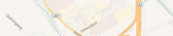 Karte BP Raststation Sebersdorf