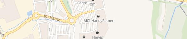 Karte Hatric Parkplatz Mitte Hartberg