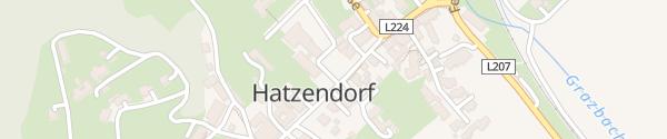 Karte Gemeindezentrum Hatzendorf