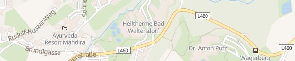 Karte Heiltherme Bad Waltersdorf