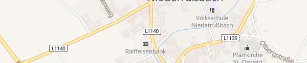 Karte Gemeindeamt Niederrußbach