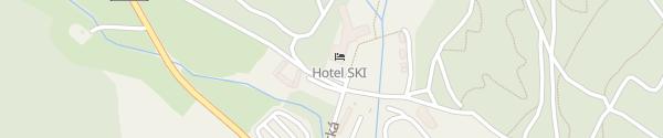 Karte Hotel Ski Nové Město na Moravě