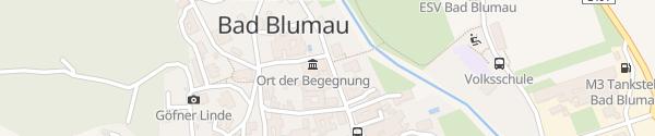 Karte E-Bike Ladestation Ort der Begegnung Bad Blumau