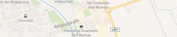 Karte Bauhof Bad Blumau