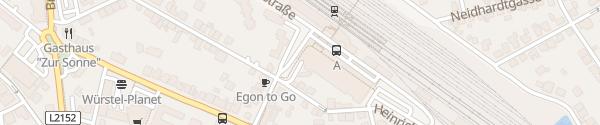 Karte Park & Ride Hauptbahnhof Tulln