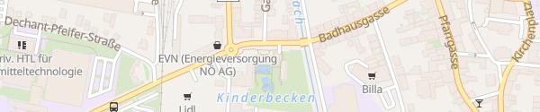 Karte Stadtbad Hollabrunn