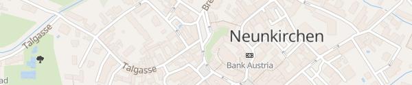 Karte Minoritenplatz Neunkirchen
