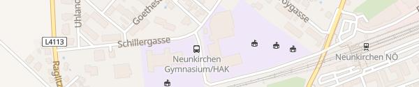 Karte Bundesgymnasium Neunkirchen