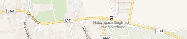 Karte Gemeindeamt Natschbach-Loipersbach