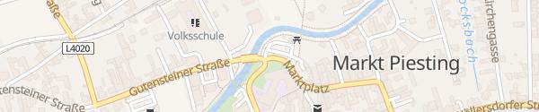Karte Herbert-Seiser-Platz Markt Piesting