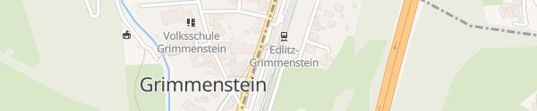 Karte Edlitz-Grimmenstein Bahnhof Grimmenstein