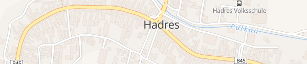 Karte Hauptplatz Hadres