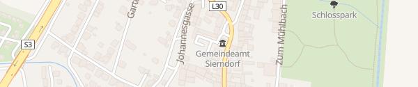 Karte Betreutes Wohnen Sierndorf