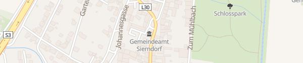 Karte Gemeindeamt Sierndorf