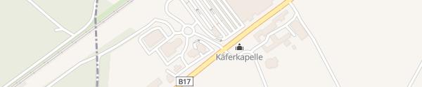 Karte ÖAMTC Stützpunkt Wiener Neustadt